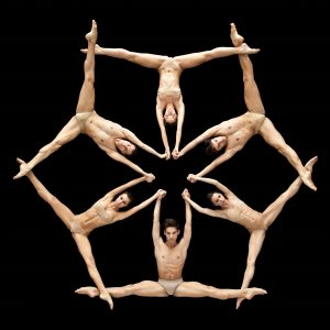 Italian dance company NoGravity perform a piece called Stella